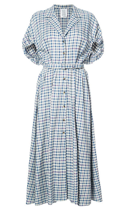 <p><strong>Plaid Collared Dress</strong>, $3,060, <em>rosieassoulin.com</em></p>