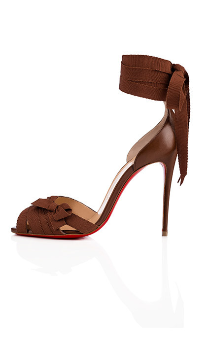 <p><strong>Christian Louboutin Christeriva Sandal in Nude 6</strong>, $1,095 <em>christianlouboutin.com</em></p>