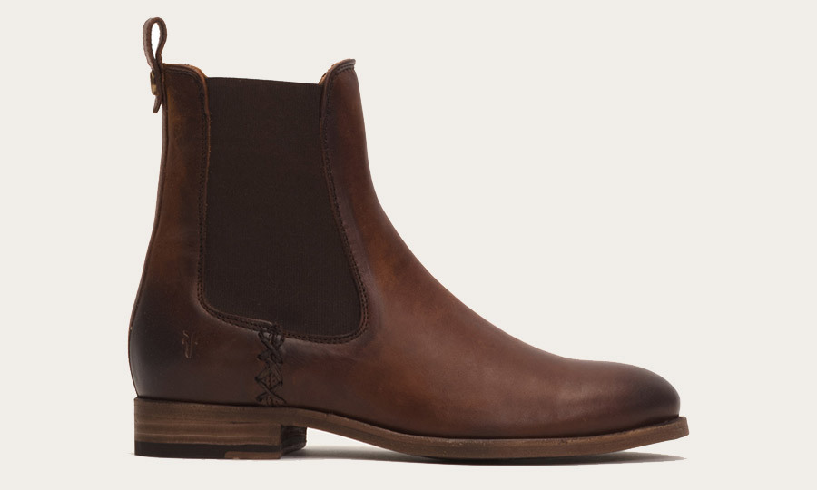 <p><strong>Melissa Chelsea Boot in Cognac</strong>, $495, <em>thefryecompany.com</em></p>