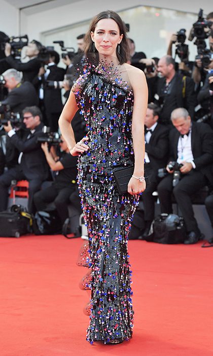 <h4>Venice Film Festival jury member Rebecca Hall</h4>