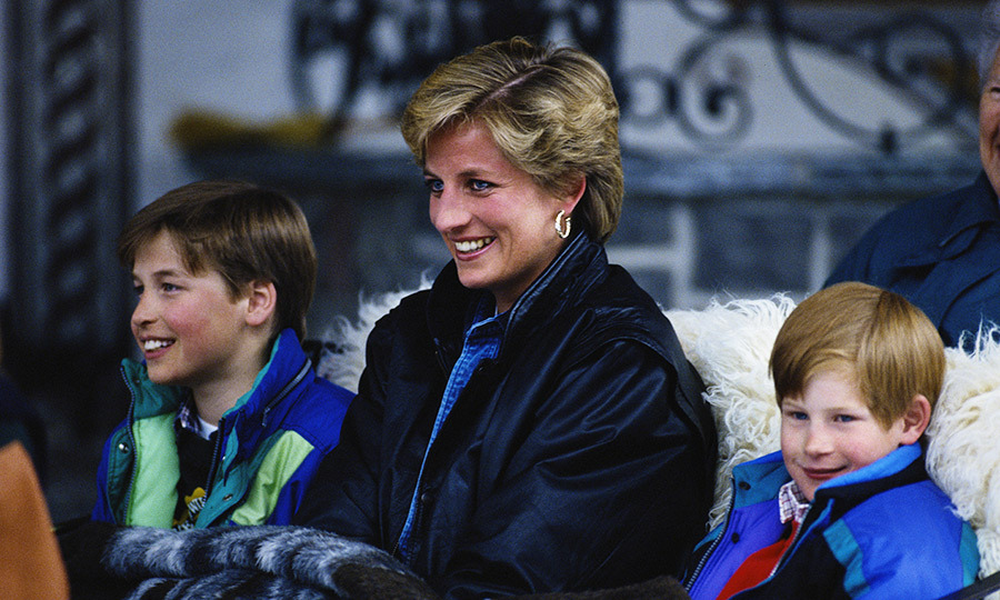 Princes William and Harry were aged 15 and 12, respectively, when they lost their mom. 