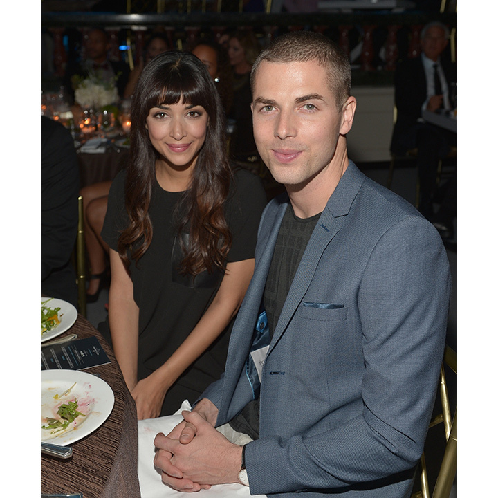 <h2>Hannah Simone and Jesse Giddings</h2>