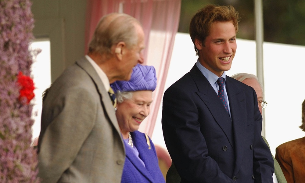 Prince William joined his grandparents at the 2005 Braemar Gathering. Scotland has hosted the event since 1832, but it dates back to the 12th century.