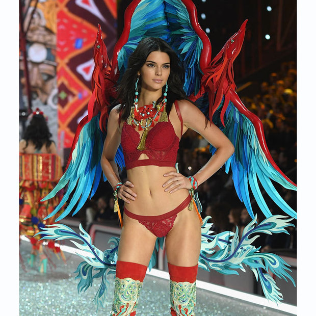 Kendall has walked twice in the VS Fashion Show.