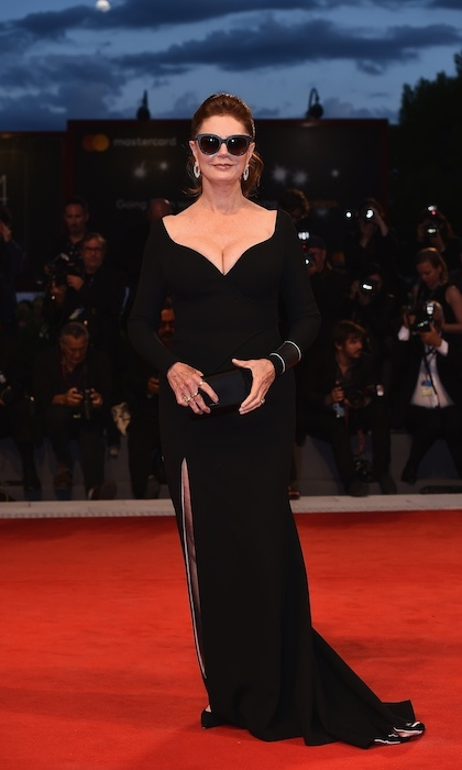 <h4>Susan Sarandon at the premiere of <em>The Leisure Seeker</em></h4>