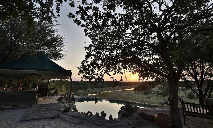 Meno a Kwena resort in Botswana, where Prince Harry took his girlfriend Meghan Markle on the first night of their holiday.