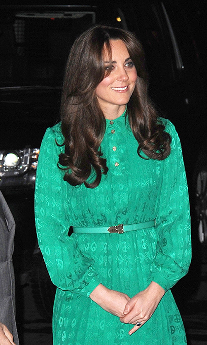Kate unveiled a dramatically different do in November 2012, one month before her first pregnancy announcement
