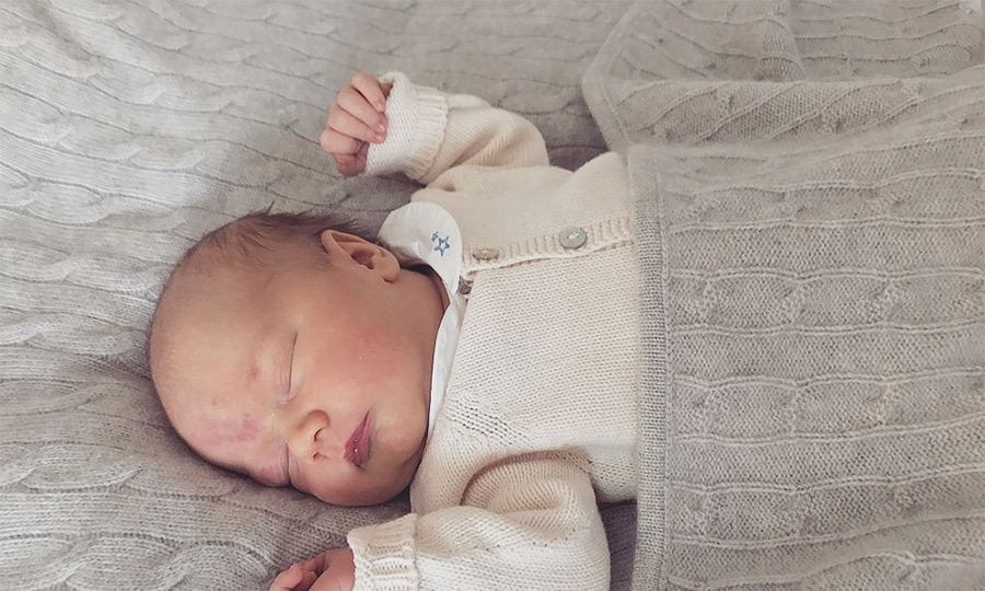 Prince Carl Philip of Sweden has shared a new photo of his son, Prince Gabriel.