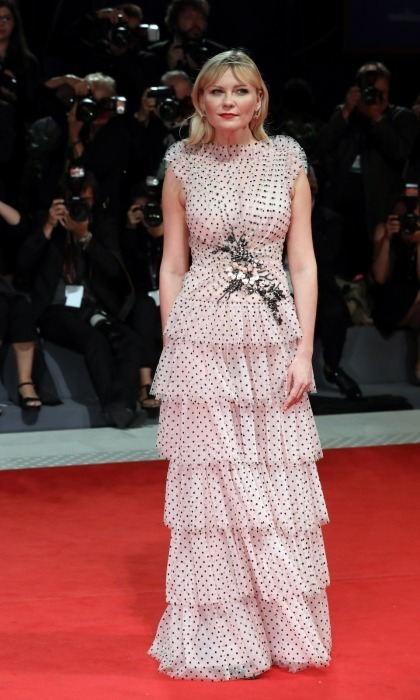 <h4>Kirsten Dunst at the premiere of <em>Woodshock</em></h4>