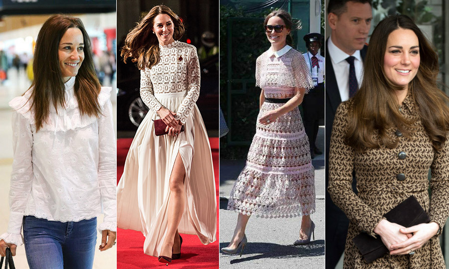 The Duchess of Cambridge and her sister Pippa Middleton have a close bond that extends to their style. Here are some of sisters' favourite designers. <em>-- By Alyssa Ashton</em>