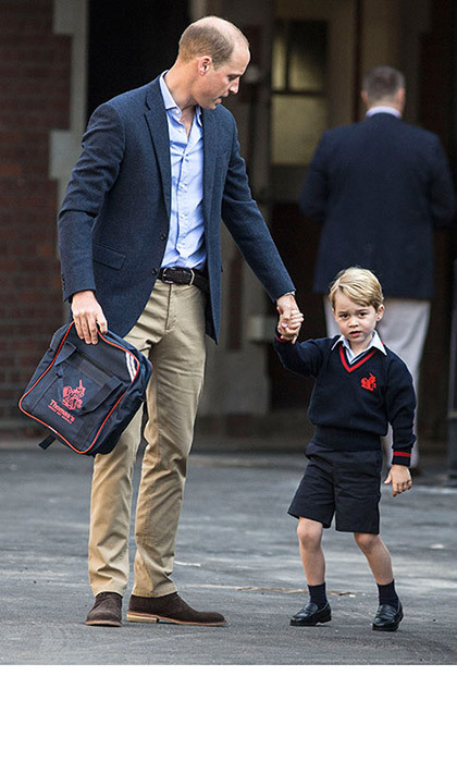 "<p>William and Kate have previously said they are eager to give their children, Prince George and Princess Charlotte, as normal an upbringing as possible. This means <strong><a href=""/royalty/02017041735002/kate-middleton-drop-off-prince-george-at-school"">doing the school run</a></strong> in the mornings as often as they can, and also picking up George in the afternoons.</p>