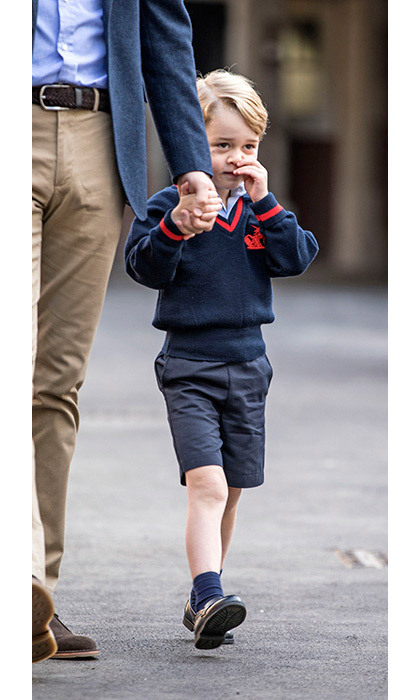 "<p>The little boy is joining one of three reception classes and will be <strong><a href=""/royalty/02017072437561/prince-george-school-surname"">known to his classmates</a></strong> as George Cambridge.</p>