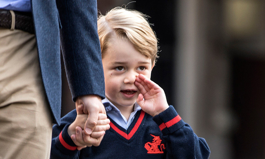 <p>There will be 21 pupils in George's class, one of three classes in the reception year, with each child given their own desk and peg with their name on.</p>