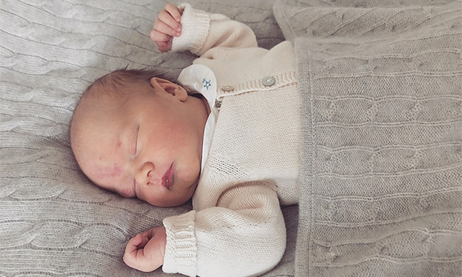 <p>Prince Carl Philip of Sweden shared a beautiful first portrait of his and Princess Sofia's newborn son Prince Gabriel on September 5. The proud dad photographed his little bundle of joy at home at Villa Solbacken, and couldn't resist sharing the snap with well-wishers. He released the photo via the Swedish Royal Court, showing five-day-old Gabriel peacefully sleeping in his cozy crib.</p>