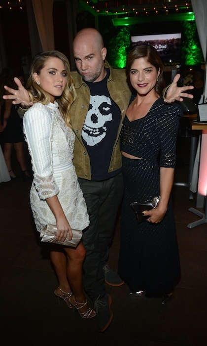 Anne Winters, director Brian Taylor and Selma Blair celebrated their movie <em>Mom and Dad</em> at The Cactus Club.  