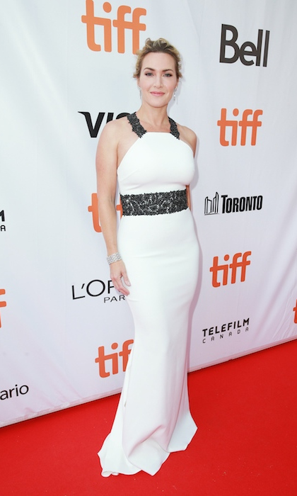 <h4>Kate Winslet at the premiere of <em>The Mountain Between Us</em></h4>