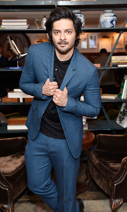 Bollywood star Ali Fazal celebrated with Grey Goose following the premiere of Victoria & Abdul on Day 4 of TIFF. 