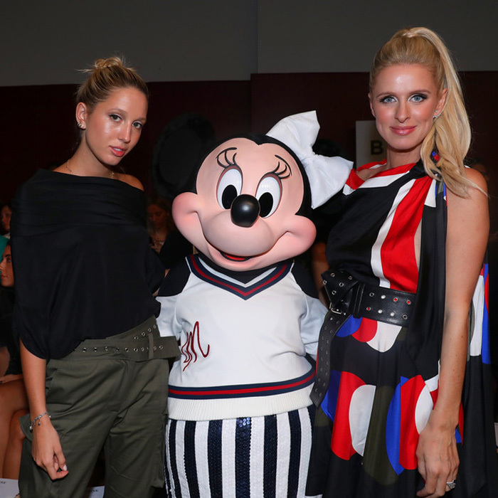 Minnie Mouse's fashionable friends! The Disney favorite had quite the fashion week debut along with Princess Olympia and Nicky Hilton at MONSE.