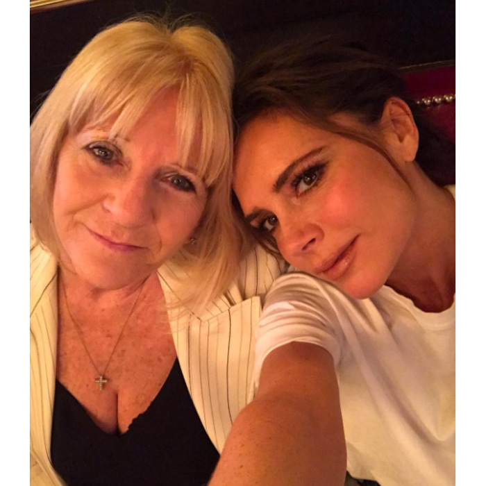 Victoria and family celebrated post-show with a brunch at Balthazar. 