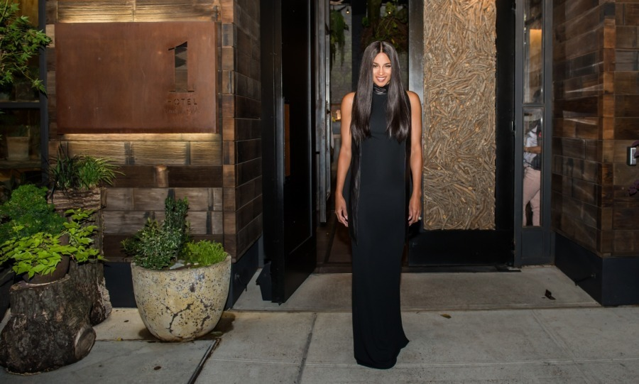 New mom Ciara made the sidewalk look like a catwalk as she fashionably walked out of 1 Hotel Central Park in head-to-toe Tom Ford. The singer was on her way to the designer's star-filled runway show during New York Fashion Week.