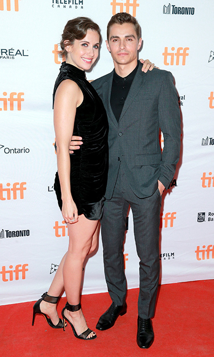 Alison Brie and Dave Franco, who got married in March, made it a date night at The Disaster Artist premiere.
