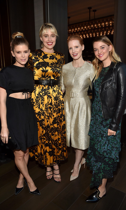Kate Mara, director Greta Gerwig, Jessica Chastain and Jess Weixler were definitely on our most fashionable list at the Entertainment Weekly's Must List Party.