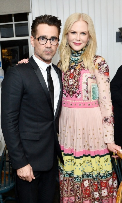 Colin Farrell and Nicole Kidman, in Valentino, celebrated their film The Killing of a Sacred Deer with an exciting premiere party hosted by Grey Goose Vodka and Soho House.