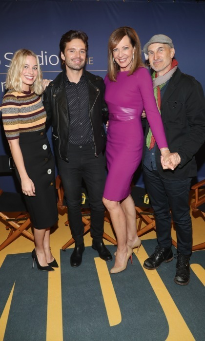 Margot Robbie, Sebastian Stan, Allison Janney and their I, Tonya director Chraig Gillespie stopped by the IMDb Studio, hosted by Visa Infinite Lounge, at Bisha Hotel & Residences on September 8. 