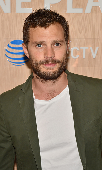 Christian Grey, aka Jamie Dornan, looked incredibly handsome at the Momofuku Noodle Bar Toronto dinner presented by AT&T and DIRECTV. The actor was in town for the festival to support his wife Amelia, who composed the music for the film <em>Mary Shelley</em>.