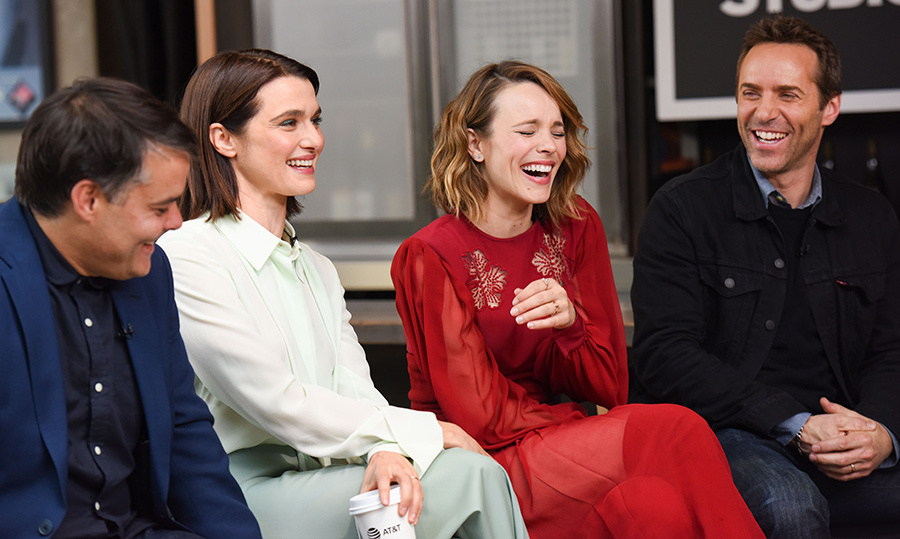 Canada's Rachel McAdams shared a laugh with her <em>Disobedience</em> co-stars at the Variety Studio presented by AT&T. The actress was thrilled to return home to debut her latest project. 