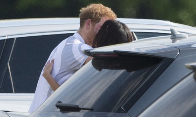 Meghan recently opened up about her relationship with Harry.