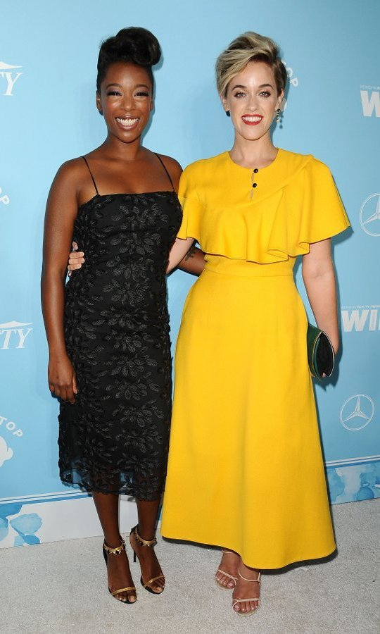 Samira Wiley and wife Lauren Morelli
