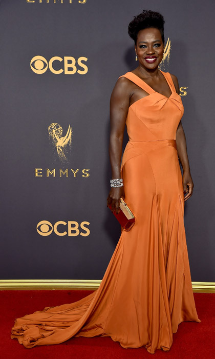 <h4>Viola Davis in Zac Posen</h4>