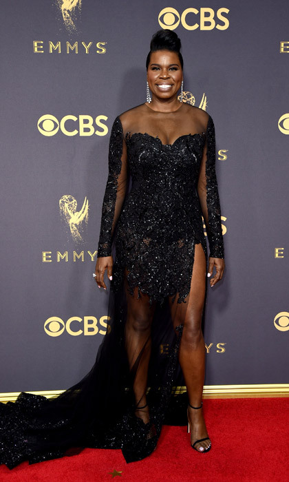 <h4>Leslie Jones in Christian Siriano</h4>