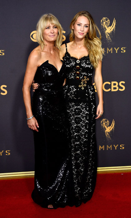 <h4>Robin Wright and Dylan Penn</h4>