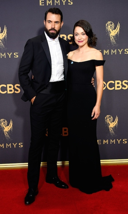 Tatiana Maslany and Tom Cullen