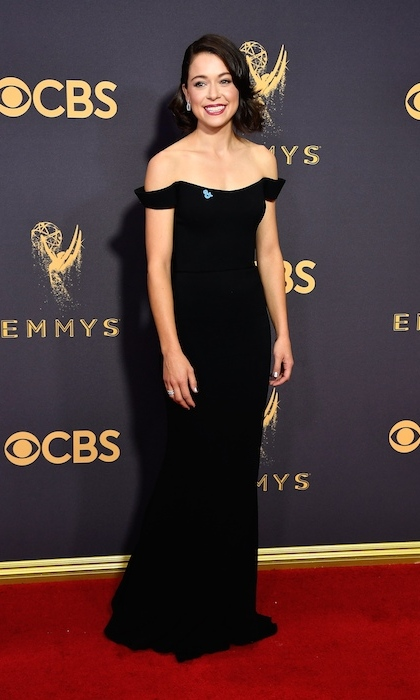 Tatiana Maslany in Reem Acra