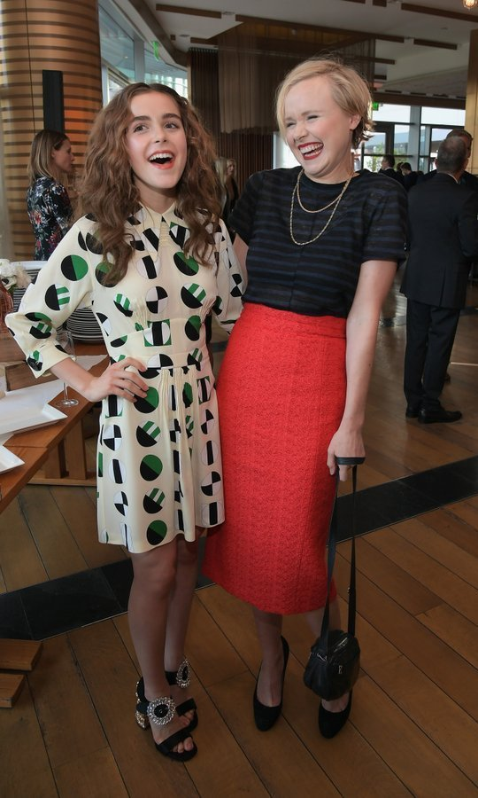 Kiernan Shipka, left, and Alison Pill