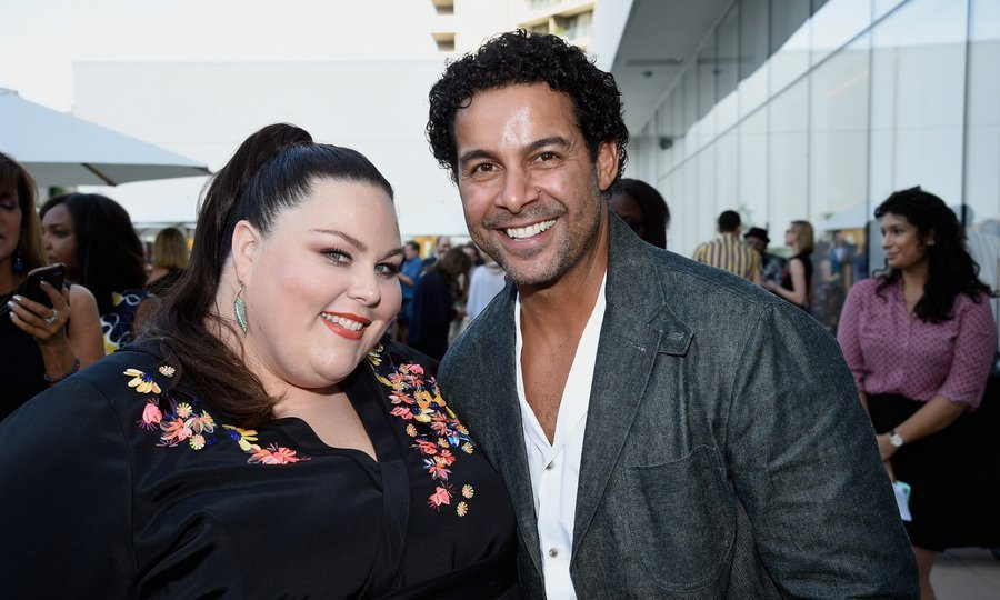 Chrissy Metz and guest