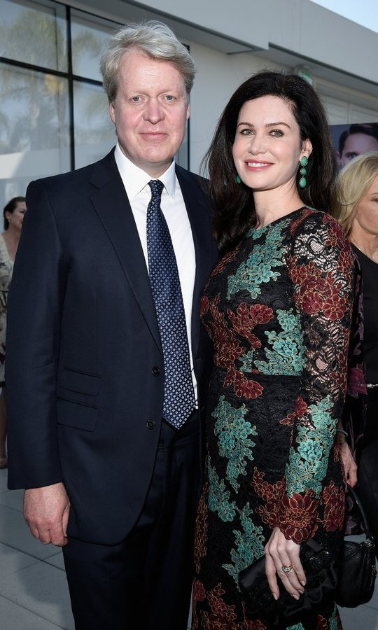 Princess Diana's brother Earl Spencer and his wife Countess Spencer mingled with the stars at the BBC America BAFTA Los Angeles TV Tea Party 2017 at The Beverly Hilton Hotel on September 16.