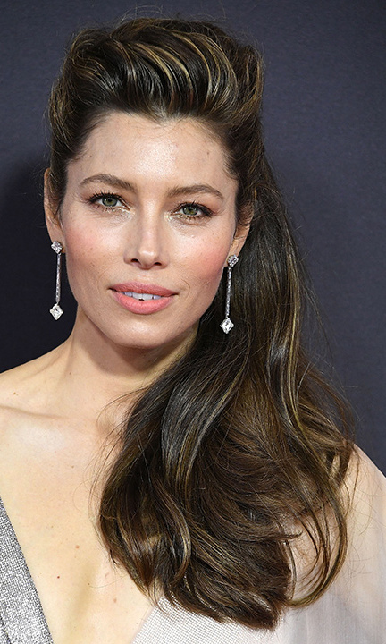 <h4>Jessica Biel, Forevermark Diamonds</h4>