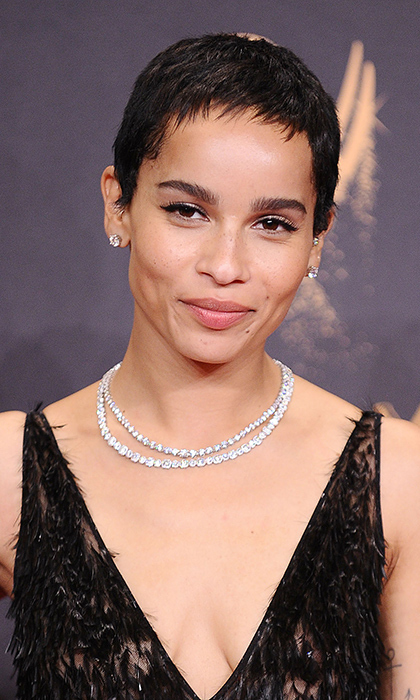 <h4>Zoë Kravitz, Tiffany & Co.</h4>