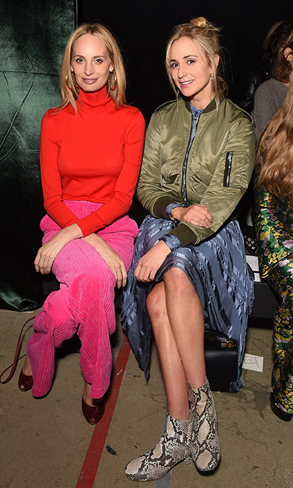 <p>Lauren Santo Domingo and Princess Elisabeth von Thurn und Taxis checked out the new looks at Erdem at The Old Selfridges Hotel on September 18.</p>