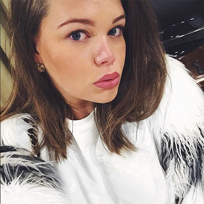 <p>Princess Grace's 19-year-old granddaughter Camille Gottlieb – whose mom is Princess Stephanie of Monaco – was ready for her closeup with this selfie, snapped during a visit to Moscow.</p>