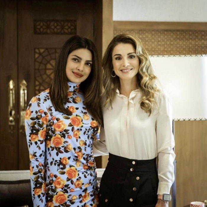 "<p>Royalty meets Hollywood! Priyanka Chopra met with Queen Rania of Jordan in Amman to chat about the Syrian refugee crisis. The Quantico actress opened up about her royal meeting on social media, writing: ""Queen Rania is a true inspiration. Her tireless efforts to help those in need comes straight from the heart and has always been consistent.. as a UNICEF Eminent Advocate for Children, she leads by example as is so evident by the countless programmes for children that she is involved in. She does this all with such grace and calm."" </p>