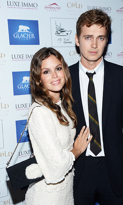 <p>Rachel Bilson and Hayden Christensen have reportedly split after ten years together</p>