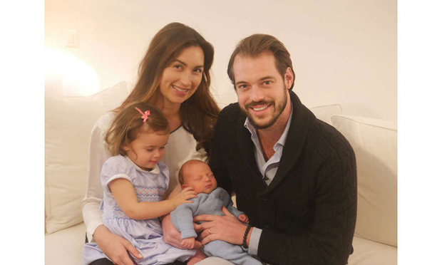 And then they were four! Prince Liam was born on Nov. 28 2016 in Geneva, Switzerland. Big sister Princess Amalia is clearly besotted with the new arrival, and can be seen doting on him in this sweet family photograph released by the palace.