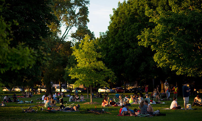 <h4>T is for Trinity Bellwoods-Park</h4>