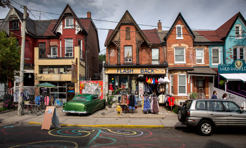 <h4>K is for Kensington Market</h4>