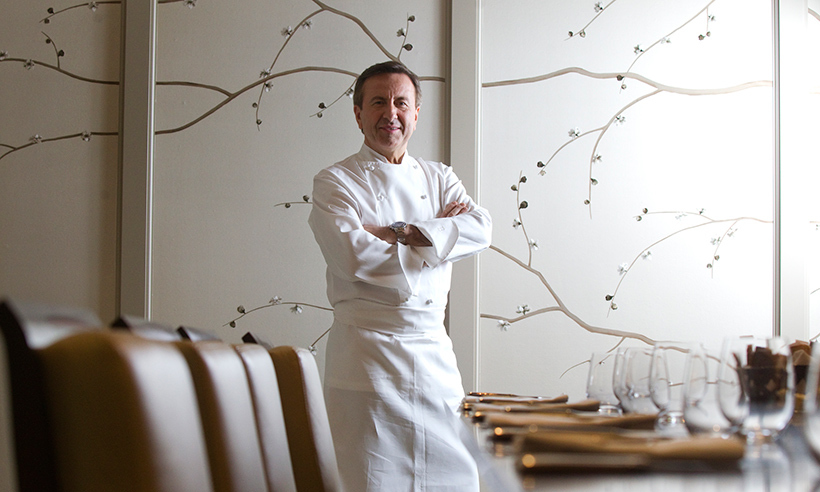 <h4>B is for Cafe Boulud</h4>